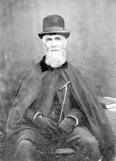 Henry William Ravenel at an old age.
