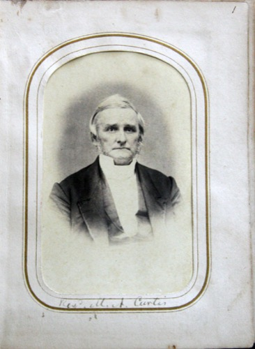 Rev. Moses Ashley Curtis image from cartes de visite