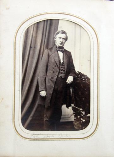 Professor Asa Gray image from Ravenel's cartes de visite